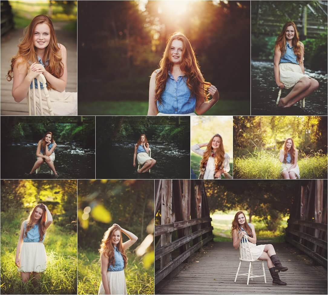 beautiful fall session girl bothell photographer