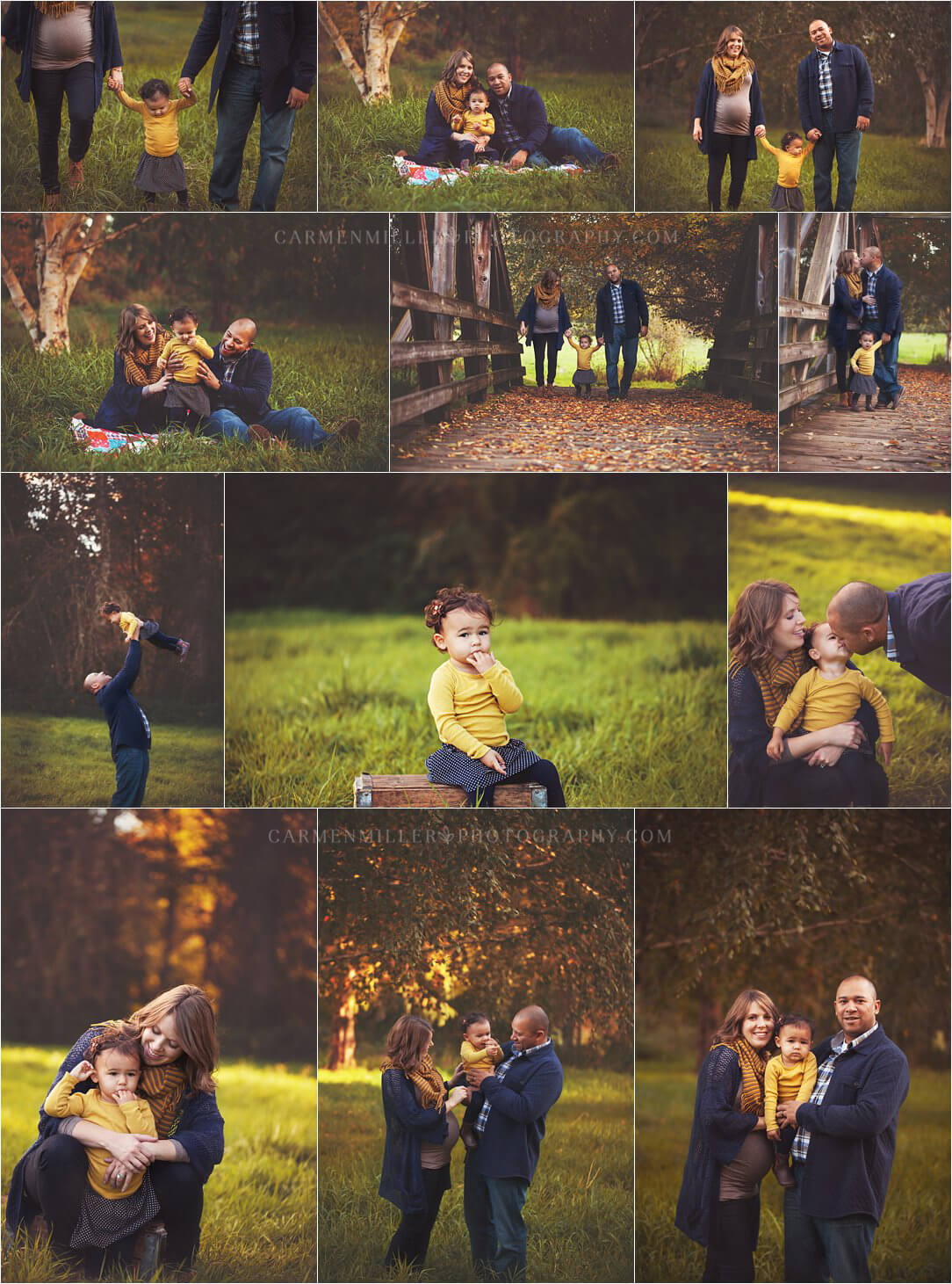 bothell family photographer sunset