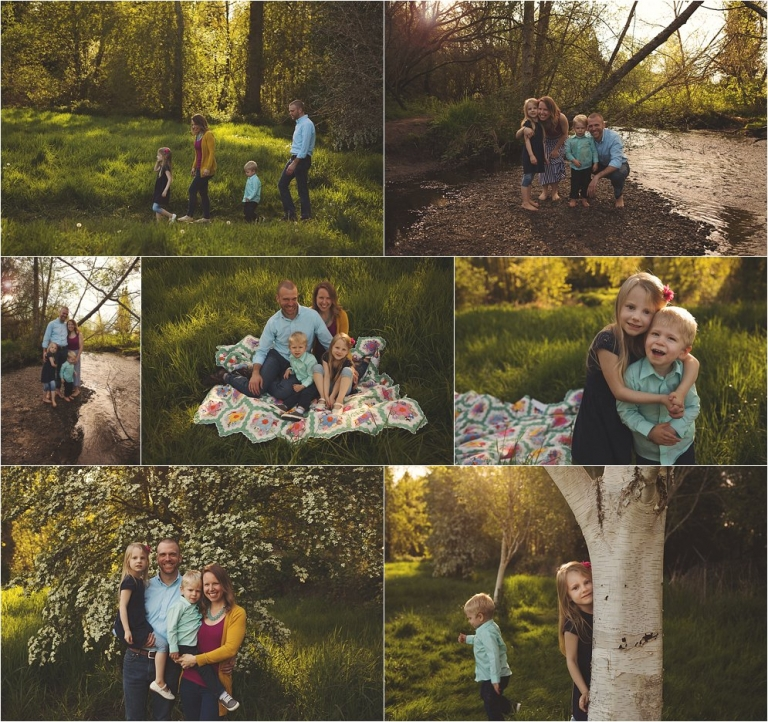 family photo session bothell