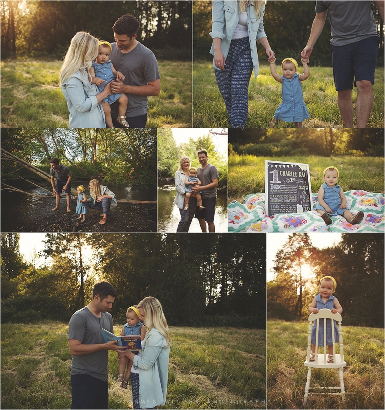 family photos in bothell park seattle